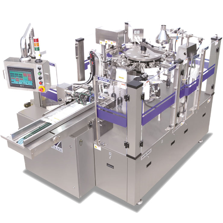 premade pouch fill seal packaging machine