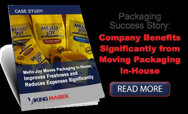 Mello Joy coffee packaging equipment case study