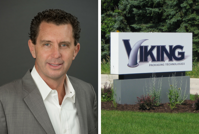 Viking Packaging Technologies sign